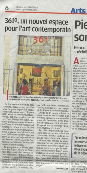 article La provence bd