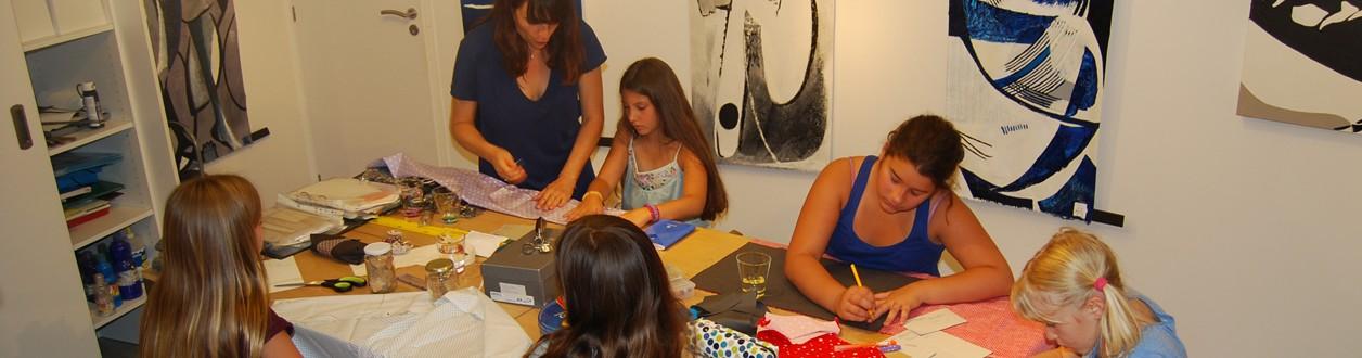 Bandeau atelier textile