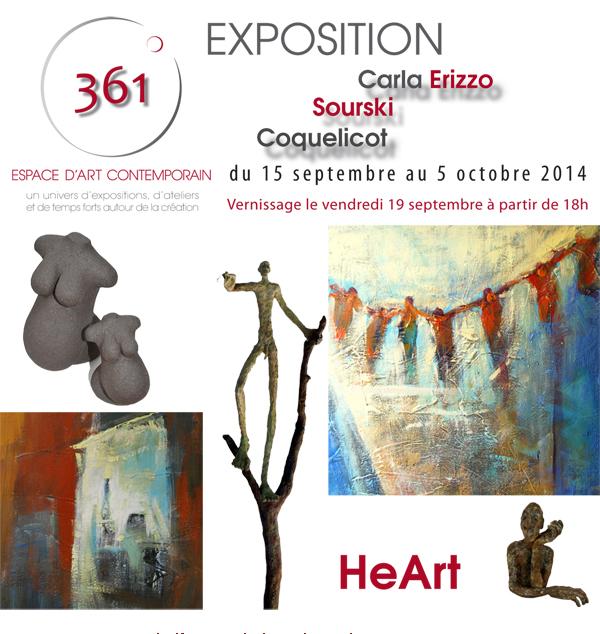 Carla & Sourski & Coquelicot flyer