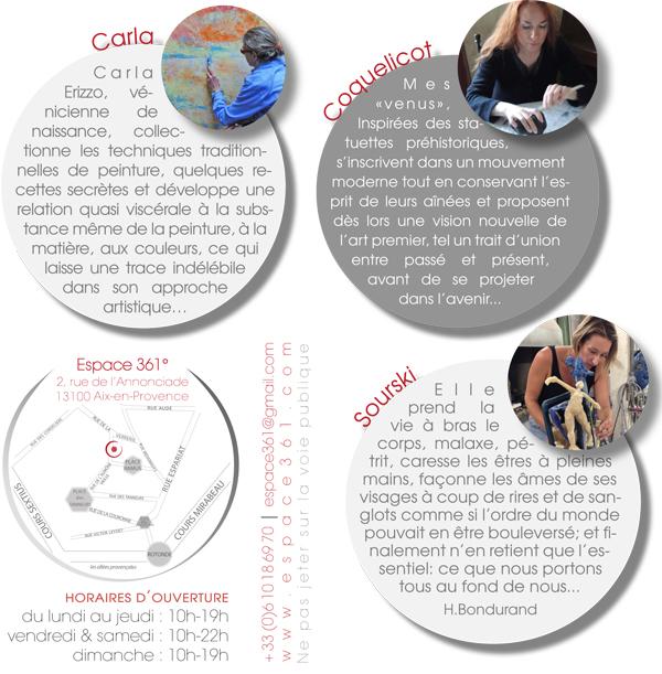 Flyer Carla & Sourski & Coquelicot p2