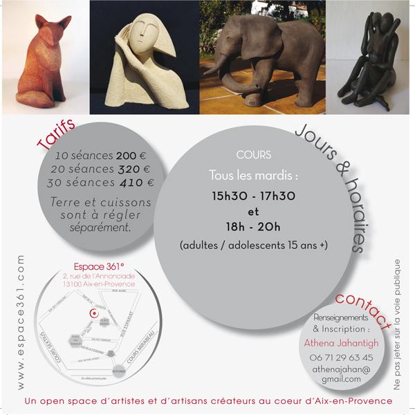 Ateliers de Modelage / sculpture à Aix-en-Provence