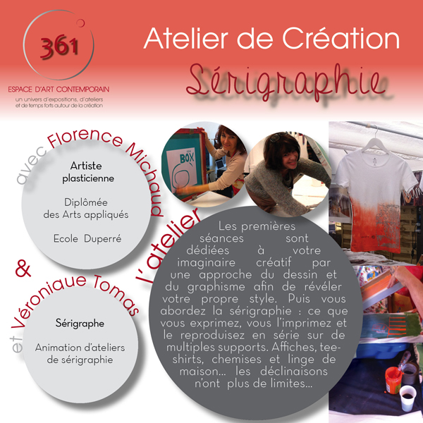 Flyer At sérigraphie