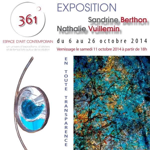 Flyer expo SBerthon&NVuillemin pr web