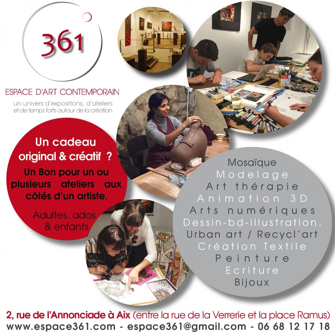 Visuel Bons cadeaux at créa 2015