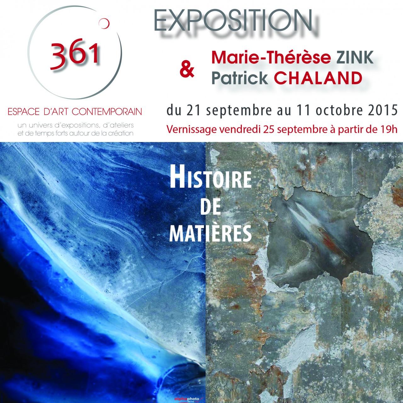 Marie-Thérèse Zink & Patrick Chaland