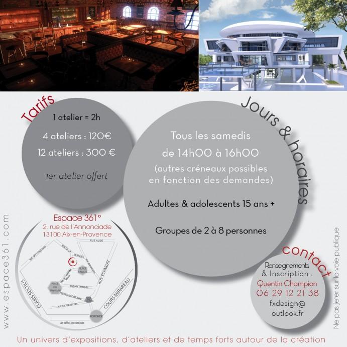 Flyer Atelier création QChampion DEF2