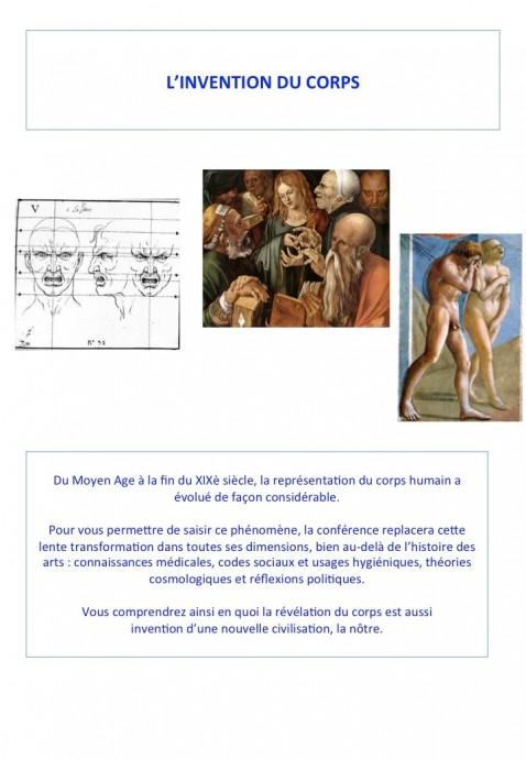 le corps dans l'art 1