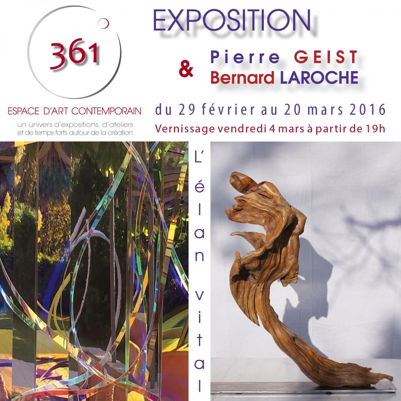 Flyer expo PGeist & BLaroche DEF