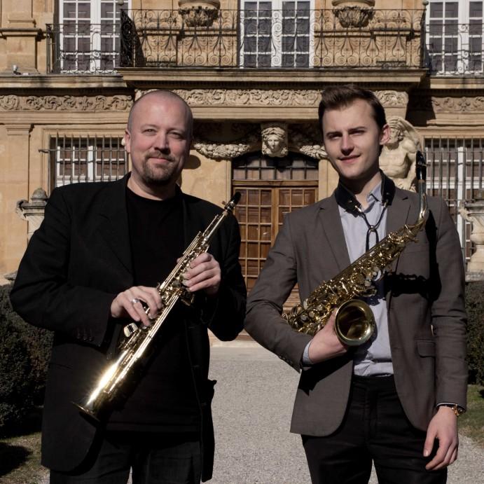 Perceval et Emmanuel 2 Carré