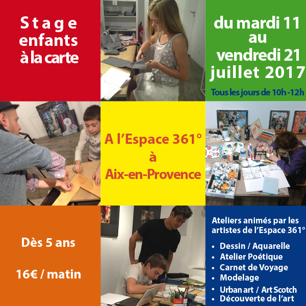 Flyer Web recto stage enfants juillet 2017-1