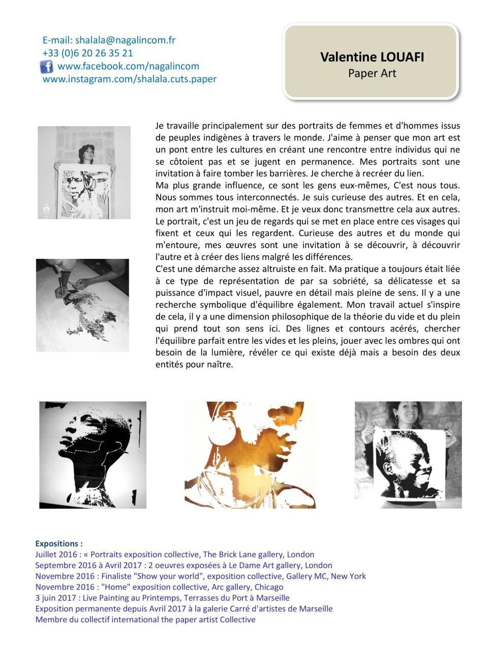 Book Valentine Louafi