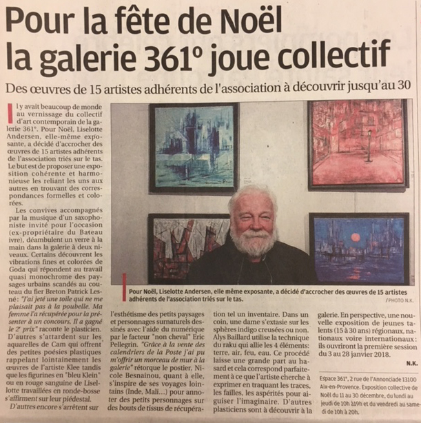 Exposition collective de Noël