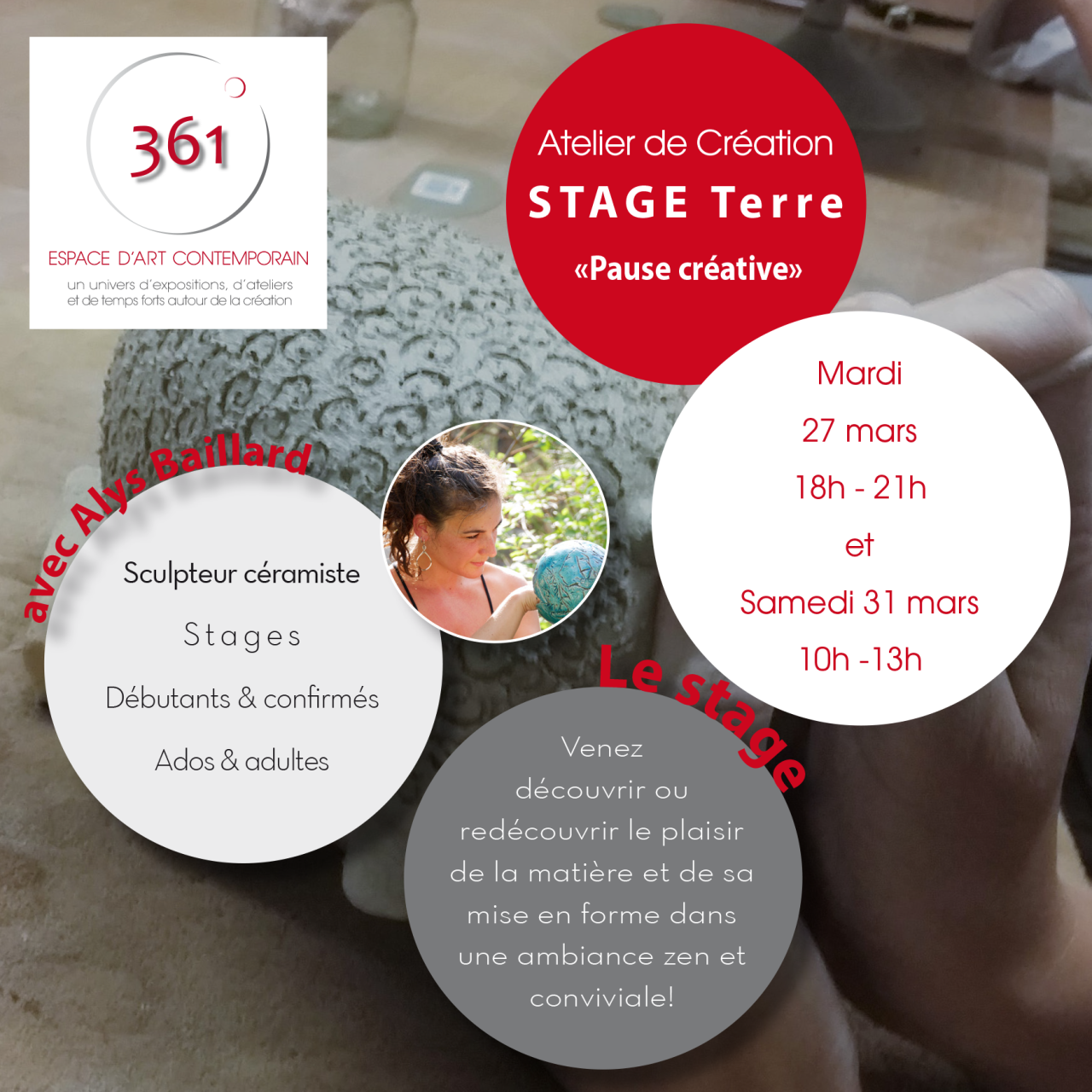 Flyer Stage At créa AlysB-Mars-1