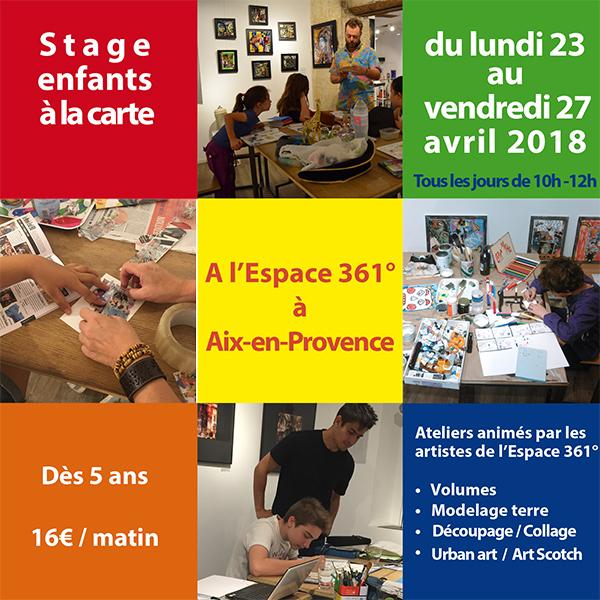 Flyer stage enfants Pâques 2018-1