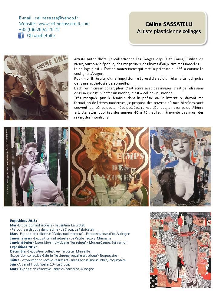 Céline sassatelli book artistes Espace 361