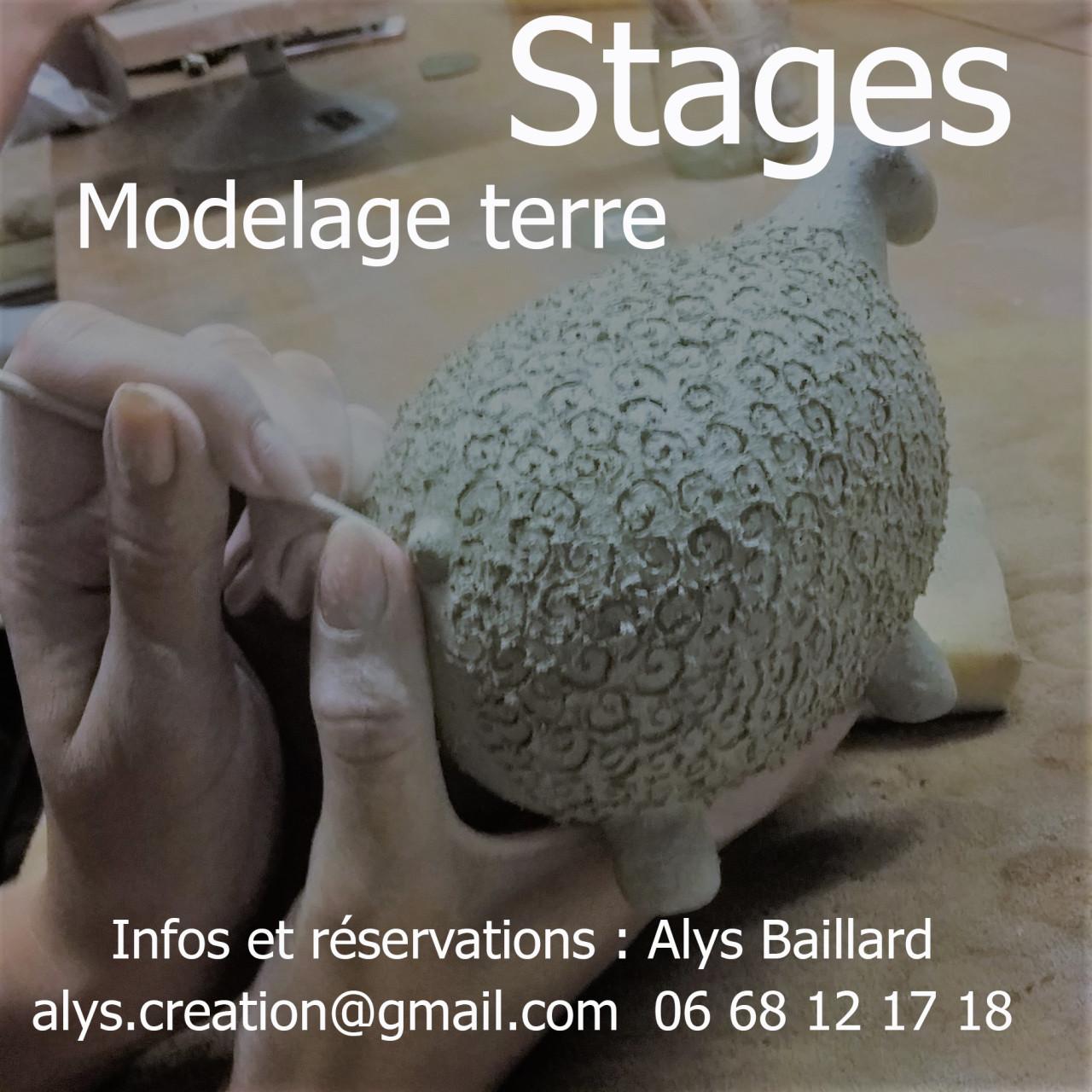 stage modelage alys