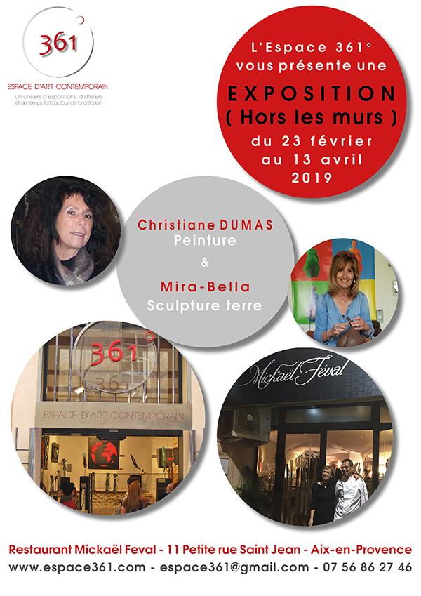 Affiche MFeval CDumas & Mira-Bella